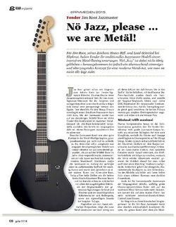Guitar Fender Jim Root Jazzmaster