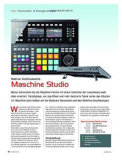 KEYS Native Instruments Maschine Studio