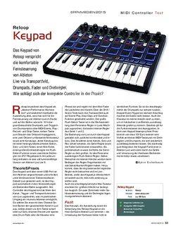 KEYS Reloop Keypad