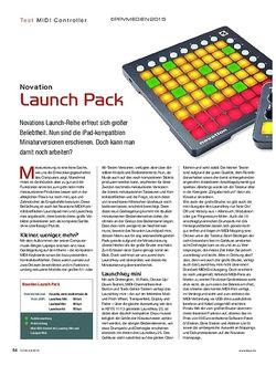 KEYS Novation Launch Pack