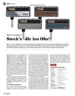 Guitar Vox Amplugs 2