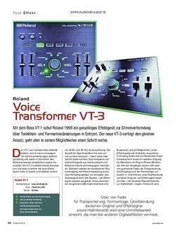 KEYS Roland Voice Transformer VT-3