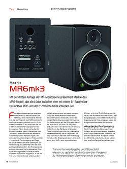 KEYS Mackie MR6mk3