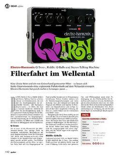 Guitar Electro-Harmonix Q-Tron+, Q-Balls, Stereo Talking Machine