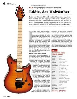 Guitar EVH Wolfgang Special Tobacco Sunburst
