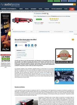 Audiofanzine.com TC Electronic BH800