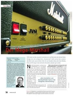Soundcheck Test: Marshall JVM410 Head – Der Mega-Marshall