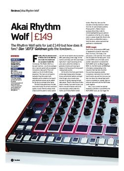 Future Music Akai Rhythm Wolf