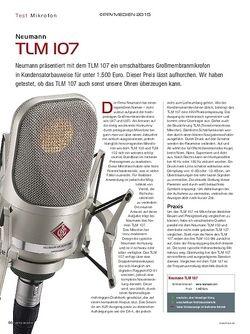 KEYS Neumann TLM 107