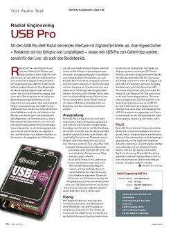 KEYS Radial Engineering USB Pro