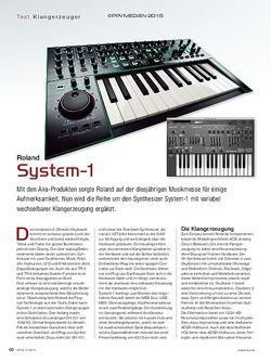 KEYS Roland System 1