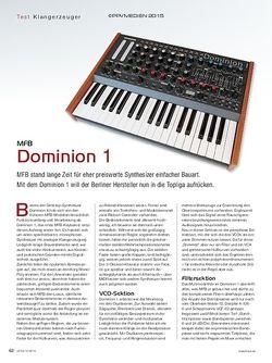 KEYS MFB Dominion 1