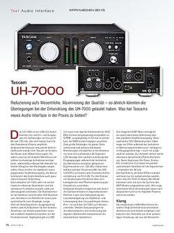 KEYS Tascam UH-7000