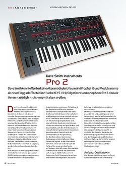 KEYS Dave Smith Instruments Pro 2