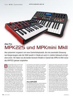 KEYS Akai Pro MPK 225 & MPKmini MkII