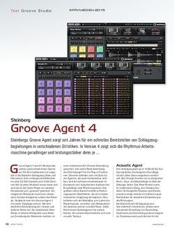 KEYS Steinberg Groove Agent 4
