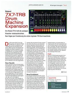 KEYS Roland 7X7-TR8 Drum Machine Expansion