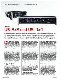 KEYS Tascam US-2x2 und US-4x4
