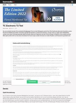 Bonedo.de TC Electronic T2