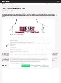 Bonedo.de Tama Silverstar Standard