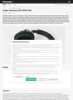 Bonedo.de Audio-Technica ATH-M70 X
