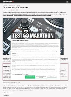 Bonedo.de Testmarathon DJ-Controller