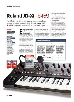 Future Music Roland JD-Xi