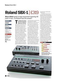 Future Music Roland SBX-1