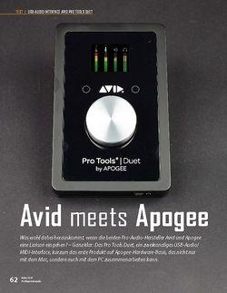 Professional Audio Avid Pro Tools Duet