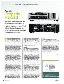KEYS Two Notes Torpedo Reload