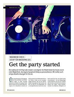 Soundcheck Maximum Check: DJing