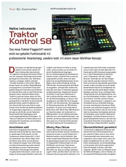 KEYS Native Instruments Traktor Kontrol S8