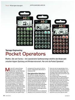 KEYS Teenage Engineering Pocket Operators