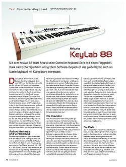 KEYS Arturia Keylab 88