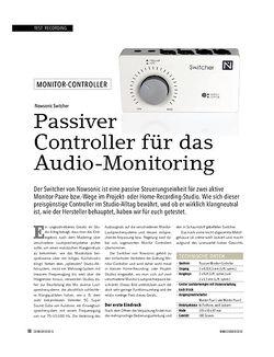 Soundcheck Nowsonic Switcher