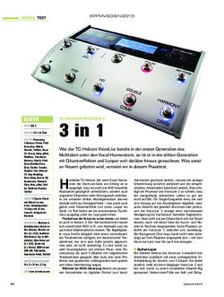 Tastenwelt TC-Helicon VoiceLive 3
