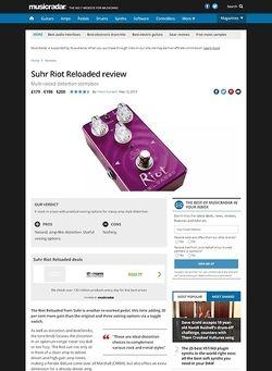 MusicRadar.com Suhr Riot Reloaded