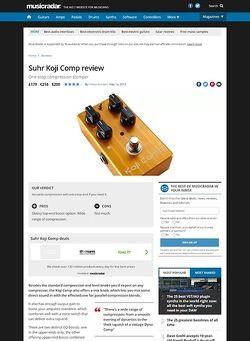 MusicRadar.com Suhr Koji Comp