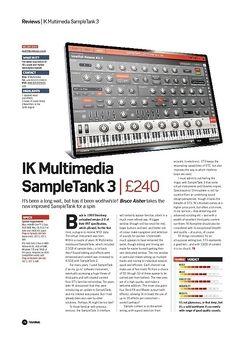 Future Music IK Multimedia SampleTank 3
