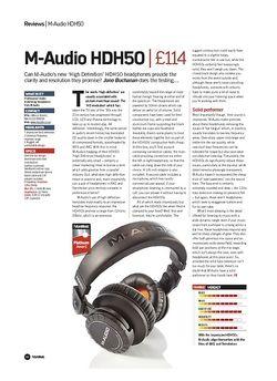 Future Music M-Audio HDH50