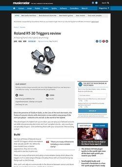 MusicRadar.com Roland RT-30