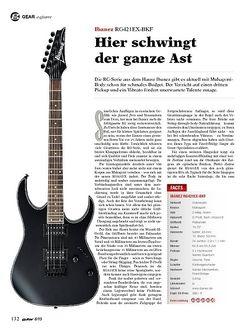 Guitar Ibanez RG421EX-BKF
