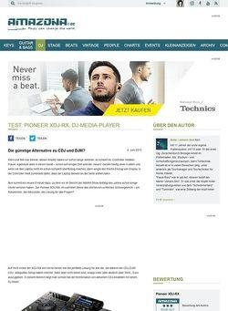 Amazona.de Test: Pioneer XDJ-RX, DJ-Media-Player