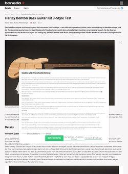 Bonedo.de Harley Benton Bass Guitar Kit J-Style