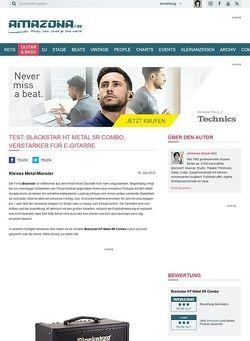Amazona.de Test: Blackstar HT Metal 5R Combo, Verstärker für E-Gitarre
