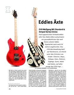 Gitarre & Bass EVH Wolfgang WG Standard & Striped Series Circles