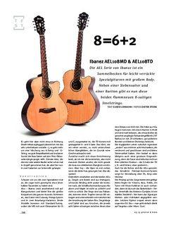 Gitarre & Bass Ibanez AEL108MD & AEL108TD