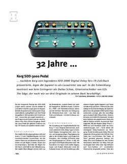 Gitarre & Bass Korg SDD-3000 Pedal