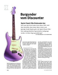 Gitarre & Bass Squier Classic Vibe Stratocaster 60s, E-Gitarre