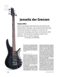 Gitarre & Bass Ibanez  SRC6, E-Bass/Gitarre